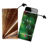 Picture of Custom Printed  Cell Phone/Ipod Itouch/Camera Microfiber Cloth Pouch
