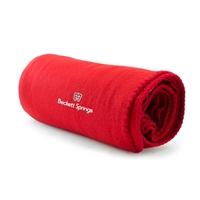 Promotional Fleece Blankets with Logo