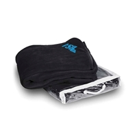 Picture of Custom Printed Micro Coral Fleece Blanket with Vinyl Carrying Bag