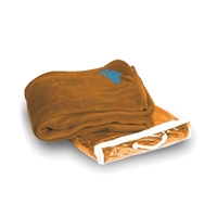 Logo Micro Coral Blankets