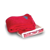 Micro Coral Blankets with Logo
