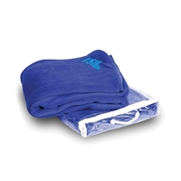 Promotional Logo Printed Micro Coral Blankets