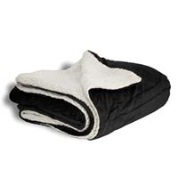 Branded Mink Sherpa Blankets