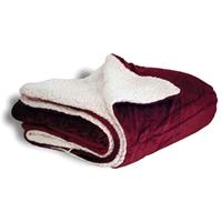 Logo Mink Sherpa Blankets