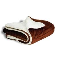 Imprinted Mink Sherpa Blankets