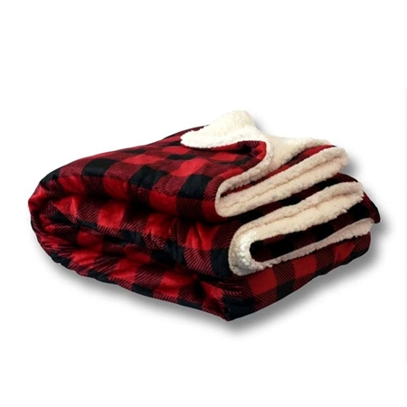Custom Mink Sherpa Blankets