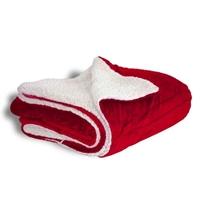 Custom Mink Sherpa Throw Blankets