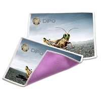 Picture of Custom Printed Dual Sided Microfiber/Terry Cloth
