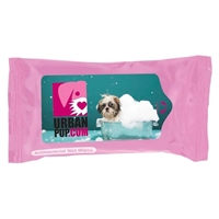 Pet wipes with logo