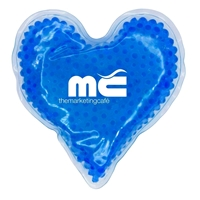 Picture of Custom Printed Heart Gel Bead Hot/Cold Pack