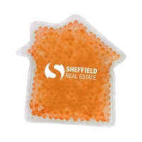 Picture of Custom Printed House Gel Bead Hot/Cold Pack