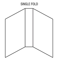 Single Fold Booklet