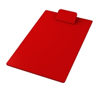 Imprinted Clipboards in red
