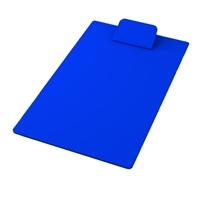 Blue Imprinted Mini Clipboard