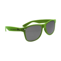 Picture of Custom Printed Solid Color Miami Sunglasses