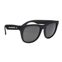 Picture of Custom Printed Solid Color Rubberized Sunglasses