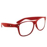 Branded Clear Lens Glasses