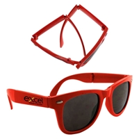 Picture of Custom Printed Folding Miami Sunglasses