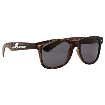 Picture of Custom Printed Tortoise Miami Sunglasses