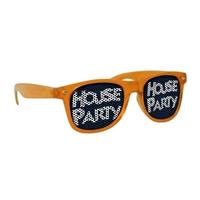 Picture of Custom Printed Translucent Miami Logo Lenses Sunglasses