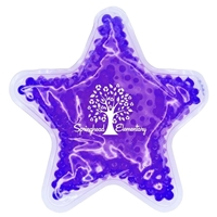 Picture of Custom Printed Star Gel Bead Hot/Cold Pack