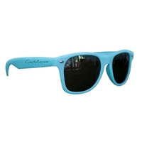 Picture of Custom Printed Matte Soft Rubberized Finish Miami Sunglasses