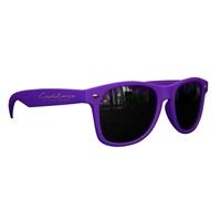 Picture of Custom Printed Matte Soft Rubberized Finish Miami Sunglasses