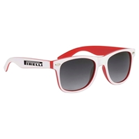 Picture of Custom Printed Two Tone Miami Sunglasses