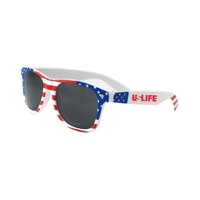 Picture of Custom Printed USA Patriotic Miami Sunglasses