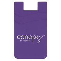 Picture of Custom Printed Double Pocket Silicone Smart Wallet