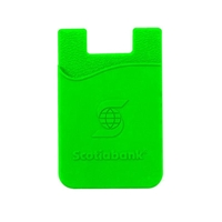 Picture of Custom Printed Embossed (Raised) Silicone Cell Phone Smart Wallet
