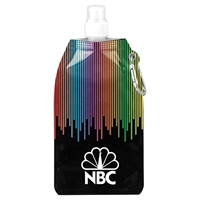 Picture of Custom Printed Rainbow Collapsible Water Bottle