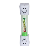 Picture of Custom Printed Smile Two Minute Brushing Sand Timer