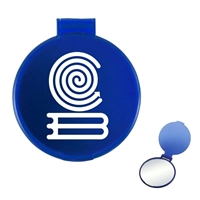 Imprinted Compact Round Mirror