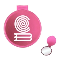 Picture of Custom Printed Round Compact Mirror