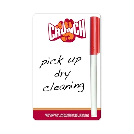 "Customizable 3.5"" x 5.5"" Dry Erase Board"