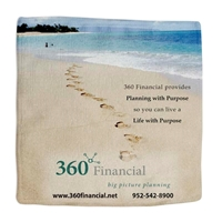Picture of Custom Printed 8 x 8 Microfiber Towel