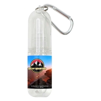 Promotional Antibacterial Hand Sanitizer with Carabiner