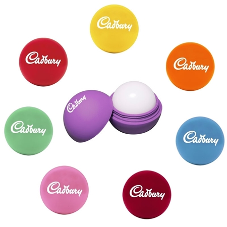 Personalized Pastel Round Lip Balm Promotional Products