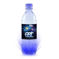 """Customized MoJo Electro """"Light Up"""" Bottled Water"""