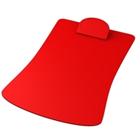 Personalized Contoured Clipboard