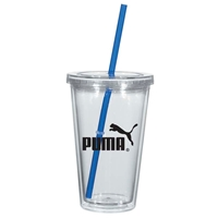 16 oz. Promotional Tumbler With Full Color Insert