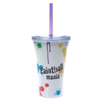 Picture of Custom Printed 16 oz. Double Wall Acrylic Tumbler With Full Color Insert