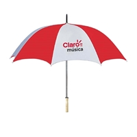 "Custom 48"" Wood Handle Umbrella"