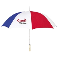 "48"" Arc Umbrella With Logos"