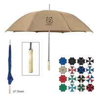 Wood Handle Branded umbrella