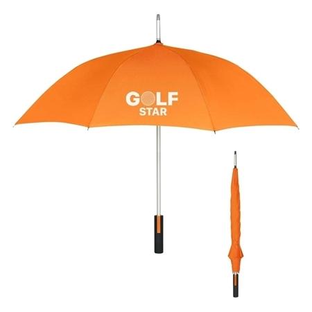 """Orange Custom 46"""" Umbrella"""