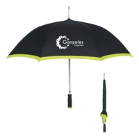 "Custom Printed 46"" Arc Umbrellas"
