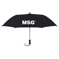 """Black 44"""" Promotional Arc Umbrellas"""