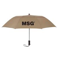 "Custom Printed 44"" Wood Handle Umbrella"